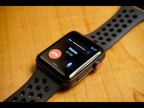 Apple Watch Series 3 Review (Nike+, Cellular)
