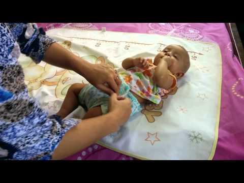 how to make a cloth diaper without sewing (কাঁথা দিয়ে ডায়াপার!!!)