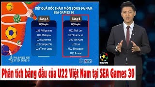 Đường tới Seagames 30 - Số 3: Phân tích bảng đấu của U22 Việt Nam, Thái Lan, Indonesia