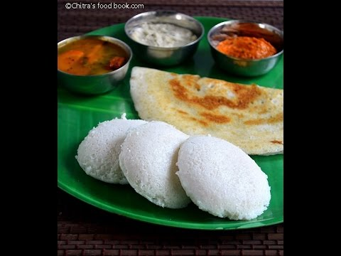 How to make Idli dosa batter in grinder - Detailed Video
