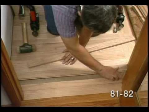 Finishing Up the Hardwood Floor Installation -