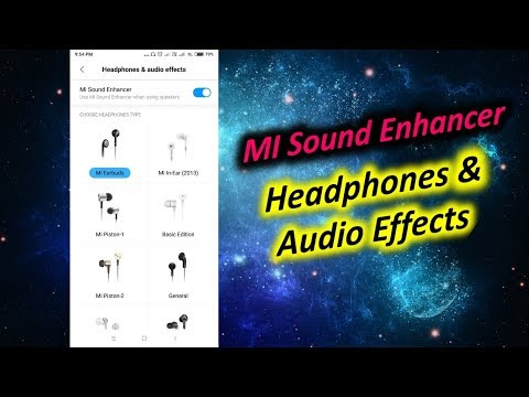 Turn on Headphones & Audio Effects in Redmi Note 5