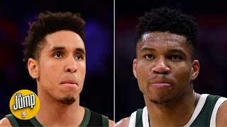 Did the Bucks blow it with Giannis by letting Malcolm Brogdon go? | The Jump