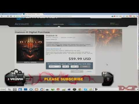 Diablo 3 : Bypass Age Restrictions