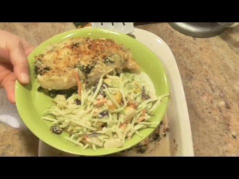 Stuffed & Baked Greek Chicken