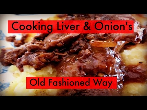 Cooking Liver & Onion's