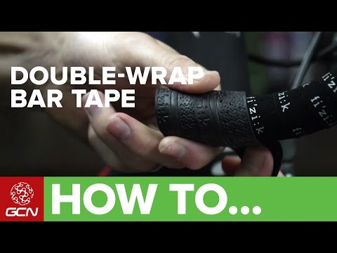 How To Double Wrap Your Handlebars - Wrapping Bar Tape