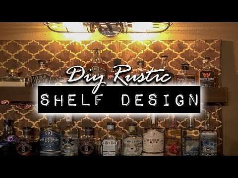 DIY Rustic Shelf Design Project   DIY & Home Design