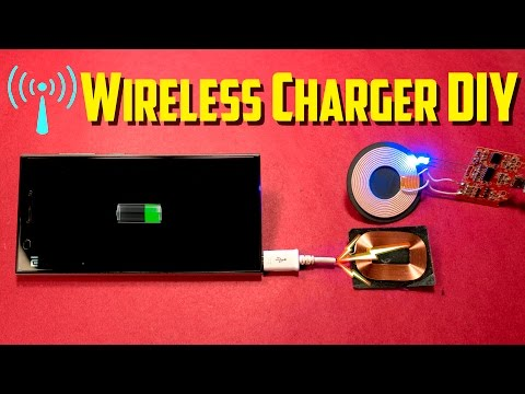 How to Convert Any Phone Charger Into Wireless Charger