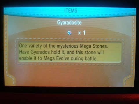 Pokemon X and Y Mega Stone Location: Gyaradosite! Get MEGA-Gyarados!