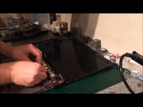 Acer Aspire 5750 5750Z Full Disassembly + Screen replacement