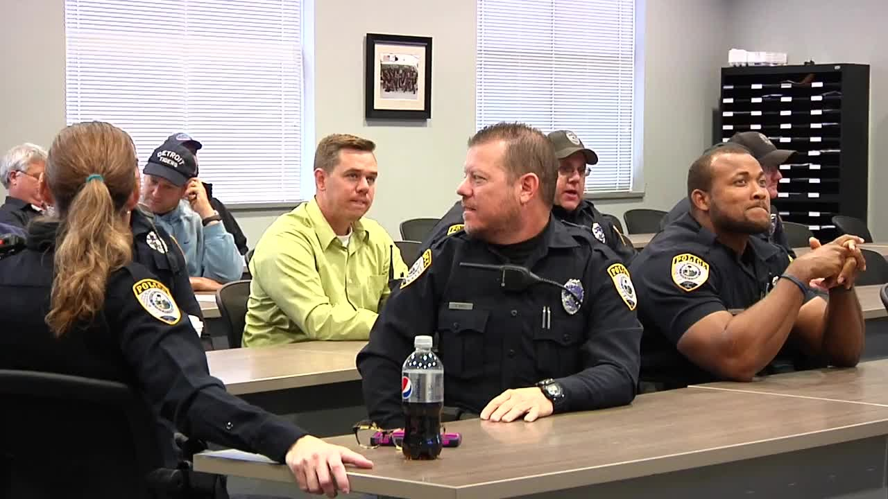 Shaquille O'Neal visits GPD - The rematch