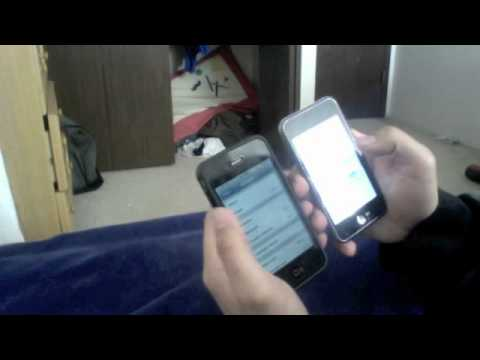 iPhone 4 VS iPod Touch 1st Gen - Speed Test