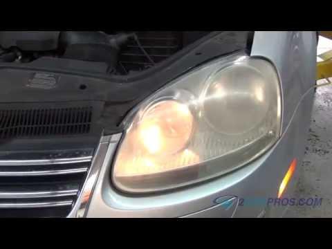 Headlight Bulb Replacement Volkswagen Jetta 2005-2010