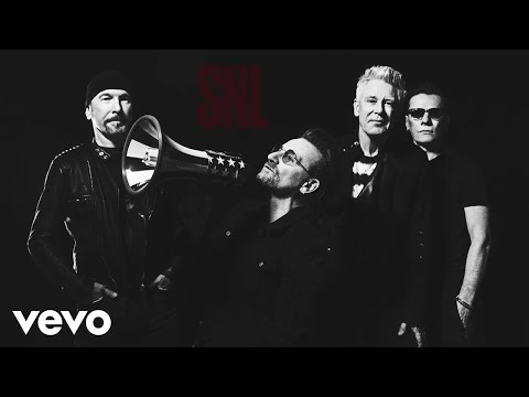U2 - Get Out Of Your Own Way (Live On SNL)