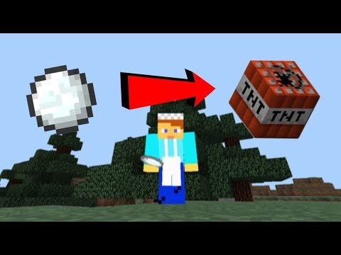 Exploding Snowballs in MCPE! 1 Command!