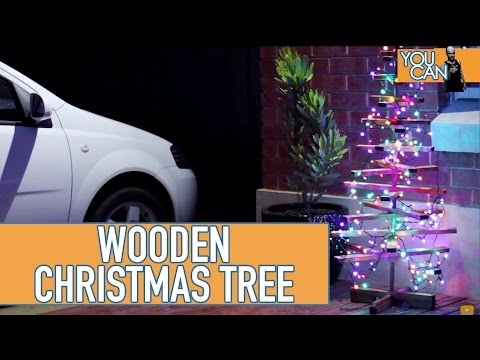 DIY Wooden Christmas Tree | You Can