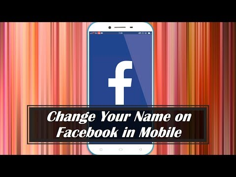 How to Change Your Name on Facebook in Mobile