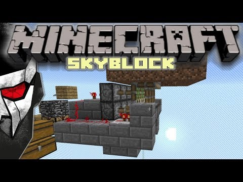 Minecraft Skyblock - Old school Redstone #9