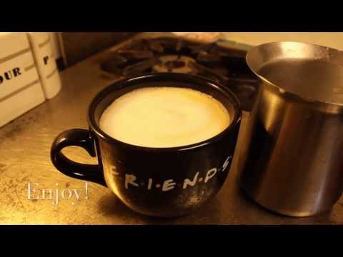 How to make Cappuccino at Home ... on your stove!