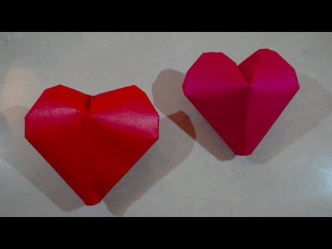 origami【3D Heart balloon】