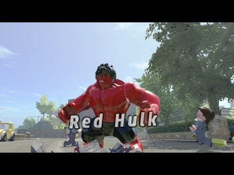 LEGO Marvel Superheroes on Xbox One - Unlocking Red Hulk (My 1st Xbox One Video)