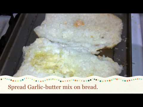 How to make Restaurant style garlic bread / garlic bread recipe [HD]