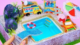 Download DIY Miniature Swimming Pool ~ 10 Minute DIY Doll Crafts Video