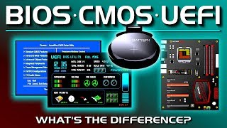 Bios, Cmos, Uefi - What