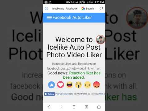 | No app | New Auto Add Members Facebook Group  Facebook Auto like Auto follower facebook page like