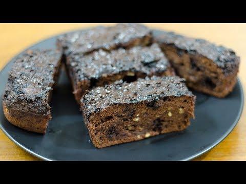 EGGLESS CHOCOLATE BANANA BREAD RECIPE I HOW TO MAKE CHOCOLATE BANANA BREAD