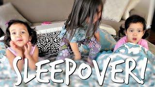 THE SLEEPOVER! - March 10, 2017 -  ItsJudysLife Vlogs