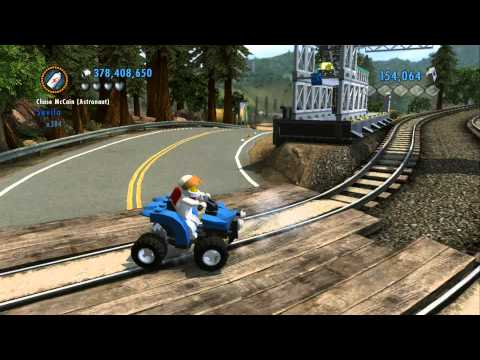 LEGO City Undercover 100% Guide - Fort Meadows (Overworld Area) - All Collectibles
