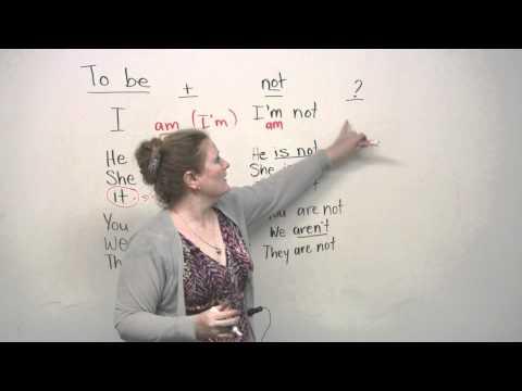 Basic English Grammar - TO BE verb