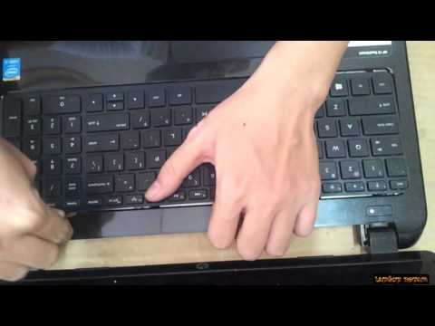 HP 15 TOUCH SMART  Disassembly and fan cleaning  Laptop repair