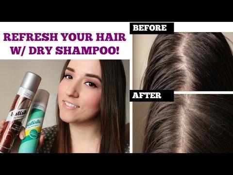Refresh Oily + Limp Hair | Batiste Dry Shampoo Demo + Review