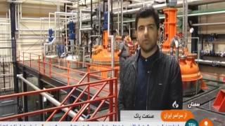 Iran Parjak co. made Pomegranate Seeds Oil Shampoo شركت پرژك توليد شامپو روغن هسته انار ايران