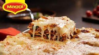 Italian Lasagna : Maggi Ramadan Recipes -  اللازانيا الإيطالية