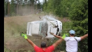 Neste rally Finland 2017, In the Middle of the action