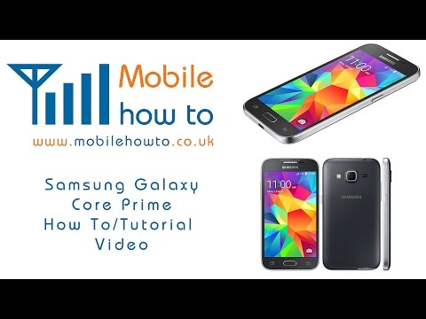 How To Change Lock Screen Security - Samsung Galaxy Core Prime