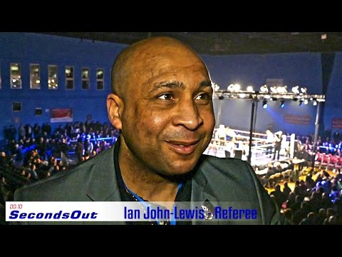 Ian John Lewis A Star Referree on Mayweather V Pacquiao and much more