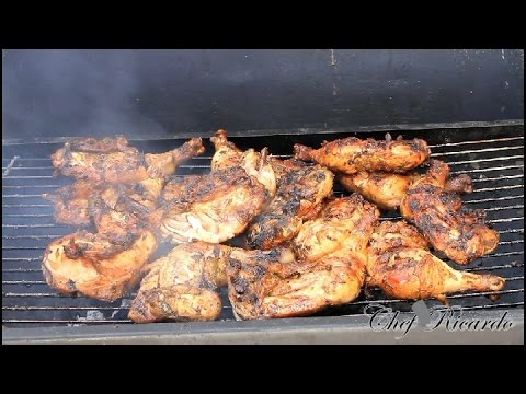 The Best Jamaican Summer Jerk Chicken Recipe | Recipes By Chef Ricardo