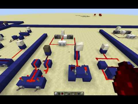 Minecraft 1.11: 3-way switches (simple XOR & XNOR Gates using the Observer block)