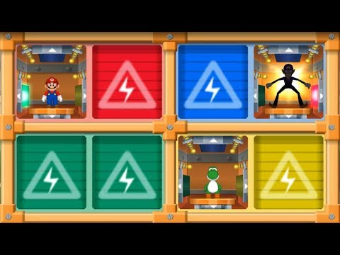 Mario Party 7 - All Mini Games