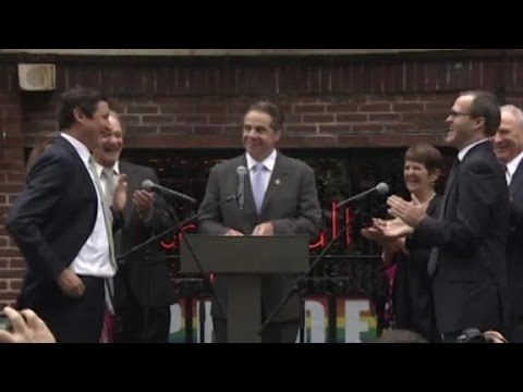 Gov. Cuomo officiates same-sex wedding in New York