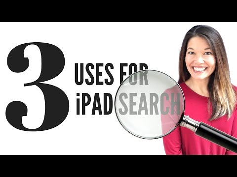 3 Uses for iPad Search Bar