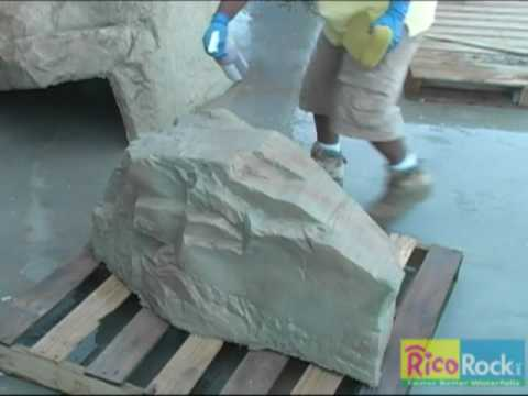 RicoRock Stain Video