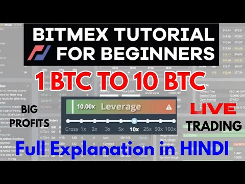 Bitmex Leverage Trading Power To Trade 100x Of Your Investment !
