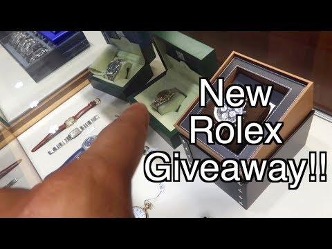 Giving Away A $10,000 Rolex!