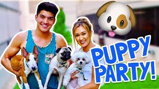 WE HAVE FUR BABIES!! (PUPPY PARTY)
